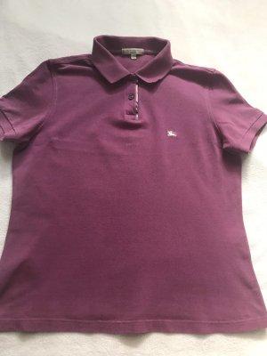 Burberry Camiseta tipo polo violeta
