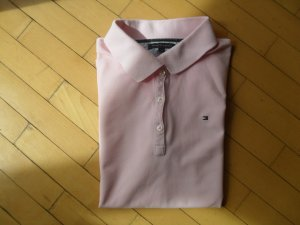 Tommy Hilfiger Polo rose clair coton