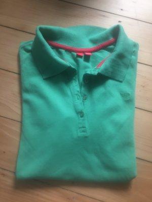 Poloshirt Esprit grün