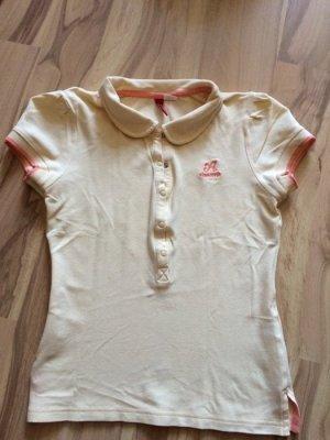 Poloshirt gelb H&M Größe XS / 34 Basic