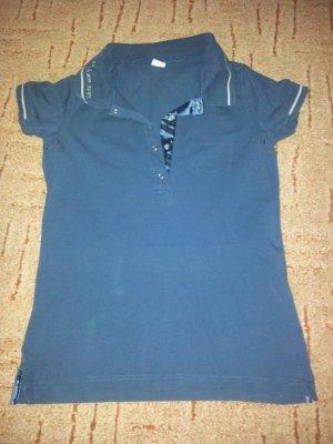 Poloshirt H2O Gr. S dunkelblau- anthrazit