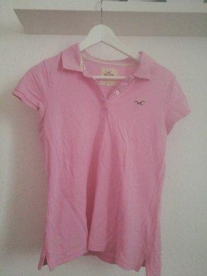 Poloshirt Hollister rosa