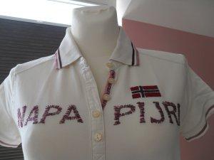 Poloshirt in der Farbe elfenbein