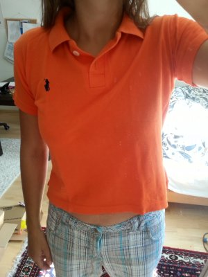 Poloshirt in  Orange