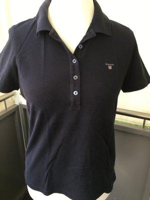 Poloshirt in schwarz von Gant