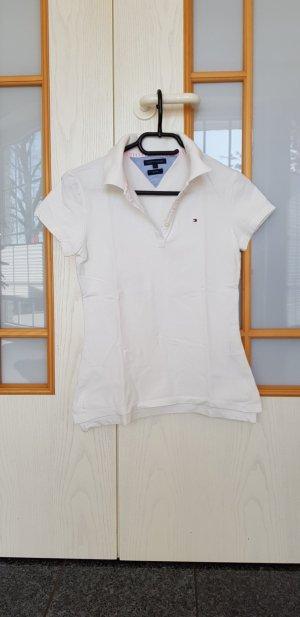 Poloshirt in weiß Gr. S von Tommy Hilfiger TOP!!!