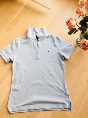 Poloshirt Kurzarm hellblau Tommy Hilfiger