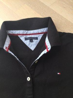 Poloshirt kurzarm schwarz Tommy Hilfiger
