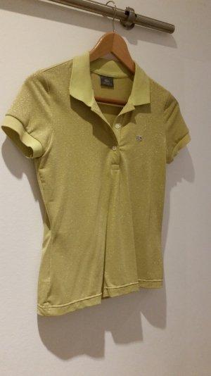 Poloshirt Lacoste glitzert gelb