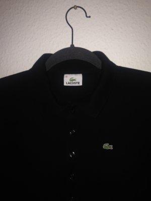 Poloshirt Lacoste Gr. 42 (40) schwarz, langärmelig
