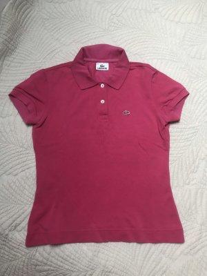 Lacoste Polo shirt roze