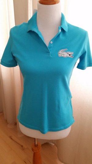 Lacoste Polo Shirt light blue cotton