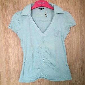 Poloshirt Marke: Kenvelo Größe: S Farbe: Aqua