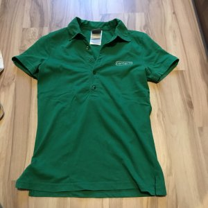 Poloshirt Oberteil von Carhartt Shirt Polo Größe XS S 34 36 grün