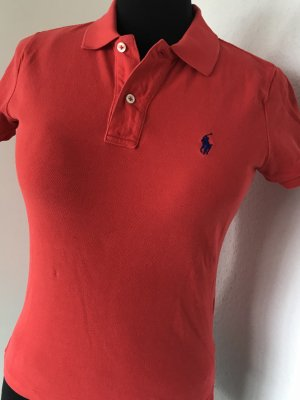Poloshirt orange-rot