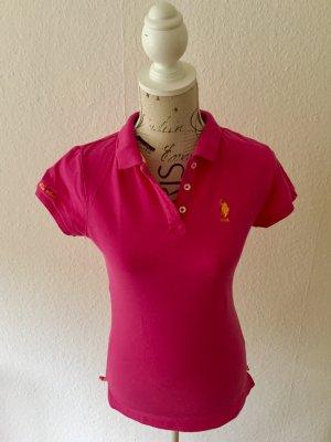 Poloshirt// Pink// U.S. Polo Assn.// M