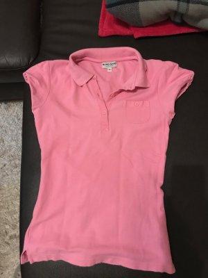 Poloshirt polo t-shirt shirt oberteil rosa größe s 36 wie neu