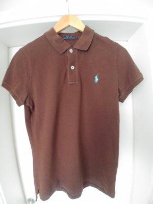 Ralph Lauren Polo shirt donkerbruin