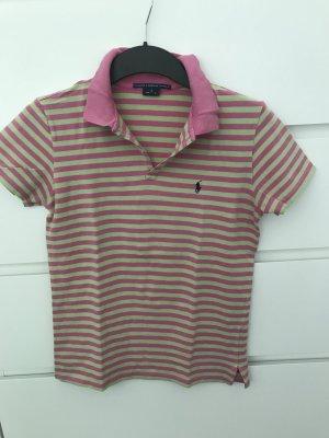 Poloshirt Ralph Lauren gr. S grün pink