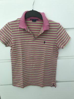 Poloshirt Ralph Lauren gr. S grün pink
