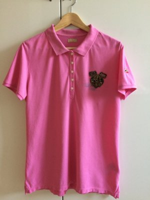 Poloshirt rosa von Napapijri Größe XL