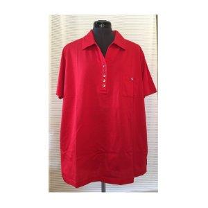 Camiseta tipo polo rojo