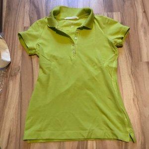 Poloshirt Shirt Oberteil von Größe XS S 34 36 minigrün neu H&M