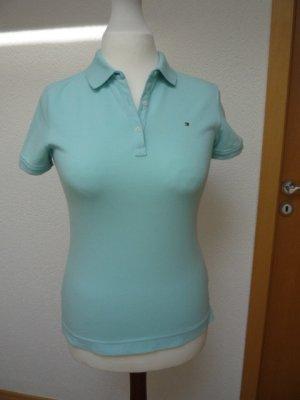 Poloshirt Tommy Hilfiger Damen Gr. s (deutsch 36) hellblau