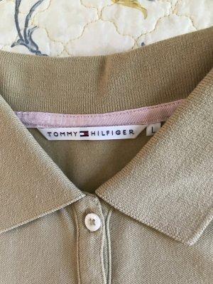Poloshirt Tommy Hilfiger Größe L (40) camelfarben