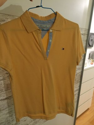 Poloshirt Tommy Hilfiger orange