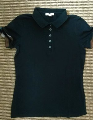 Burberrys' Polo Shirt black cotton