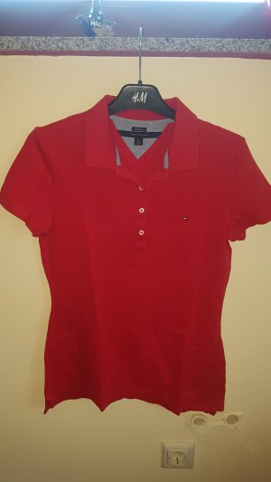 Tommy Hilfiger Polo rouge-rouge framboise