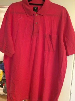 Polo Shirt magenta cotton