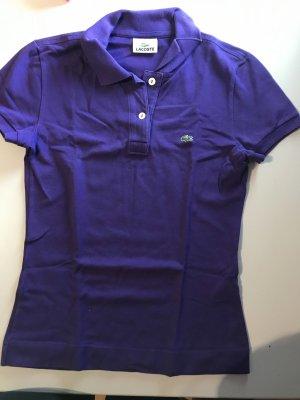 Lacoste Polo violet-violet foncé