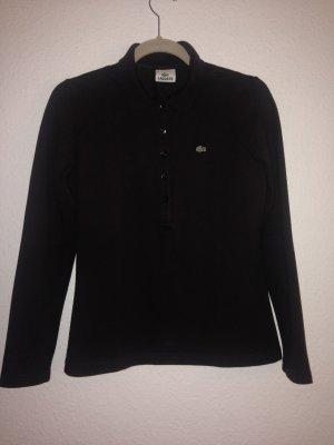 PoloShirt von Lacoste Gr. 42 (40) schokobraun, langärmelig