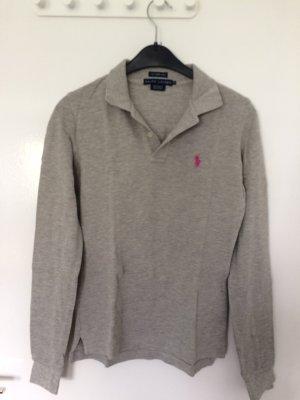 Ralph Lauren Polo shirt grijs-roze