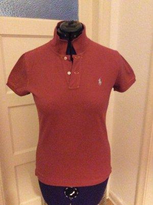 Polo Ralph Lauren Polo Shirt dark orange cotton
