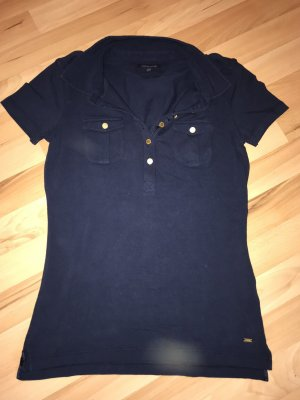 Tommy Hilfiger Polo Shirt gold-colored-dark blue