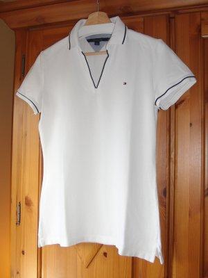 Tommy Hilfiger Polo Shirt white cotton