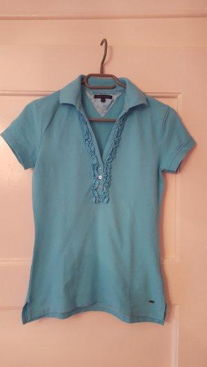Tommy Hilfiger Camiseta tipo polo azul bebé Algodón