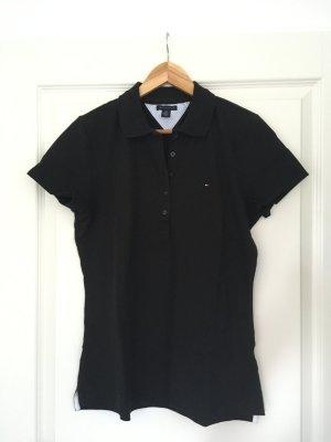Poloshirt von Tommy Hilfiger schwarz