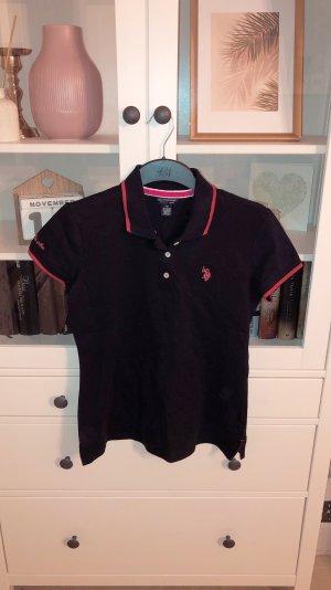 U.s. polo assn. Polo shirt zwart