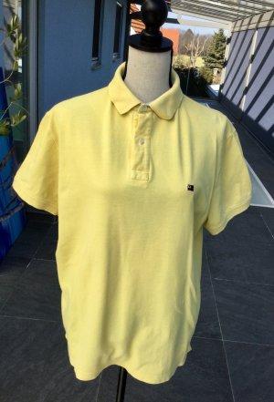 Viacortesa Polo giallo pallido
