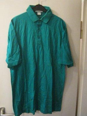 Camiseta tipo polo verde