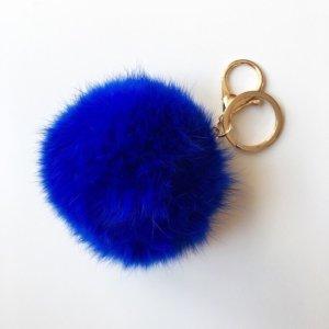 Porte-clés bleu