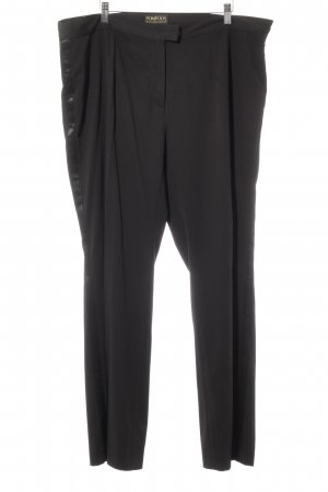 Pompöös Anzughose schwarz Elegant