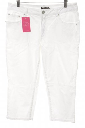 Pompöös by Harald Glöckler 3/4 Length Jeans white casual look