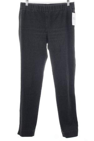 Pompöös by Harald Glöckler Stretch Jeans dunkelgrau-schwarz Elegant