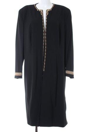 Pompöös by Harald Glöckler Between-Seasons-Coat black simple style
