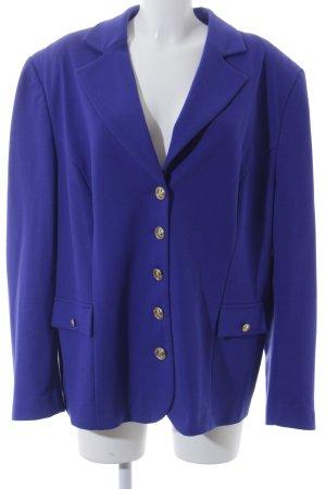 Pompöös Jerseyblazer blauviolett Business-Look